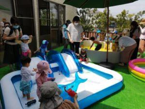 ☆「水遊び」☆(本間)