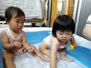 水遊び楽しいね♪(橋本)