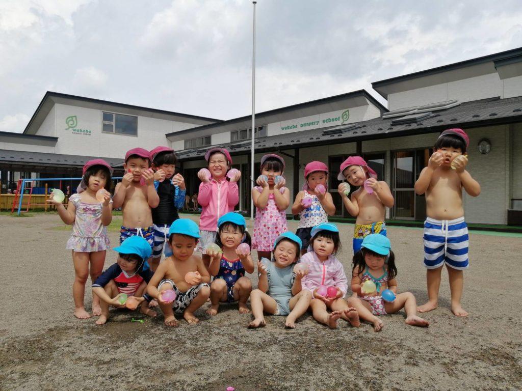 水遊び ♩ (小林)