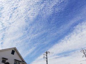 今日は秋の雲★(坂本)