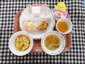 今日の給食:3月誕生会(本園)