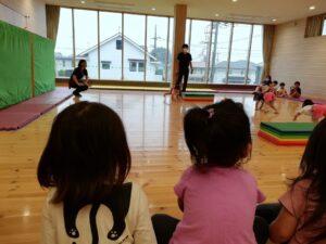 体操教室見学(江藤)