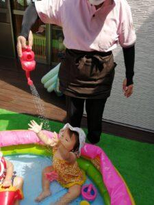 プール遊び楽しかったね!(成乃)