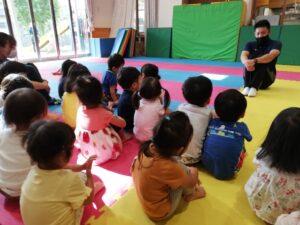 初めての体操教室!(渡辺)