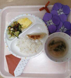 ☆今日の給食☆(わかば)